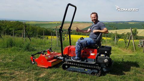 pásový víceúčelový traktor Fort Vision